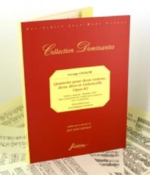 Quintette Op.82 - Georges Onslow - Partition - laflutedepan.com