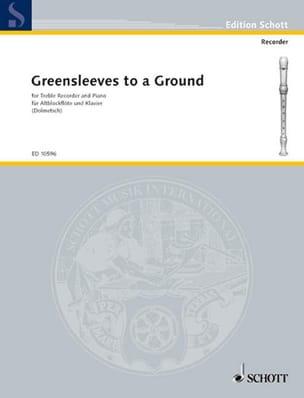 Greensleeves to a Ground - Altoblockflöte u. Klavier laflutedepan