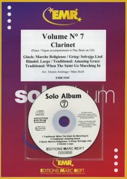 Solo Album - Volume 7 - Clarinette laflutedepan