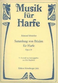Sammlung von Etüden für Harpe op.18 Edmund Schuëcker laflutedepan