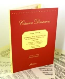 Quintette Op.80 Georges Onslow Partition Quintettes - laflutedepan