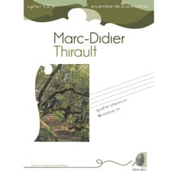 Marc-Didier Thirault - 4 Paths - M against m - Partition - di-arezzo.co.uk