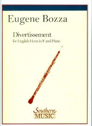 Divertissement Eugène Bozza Partition Hautbois - laflutedepan