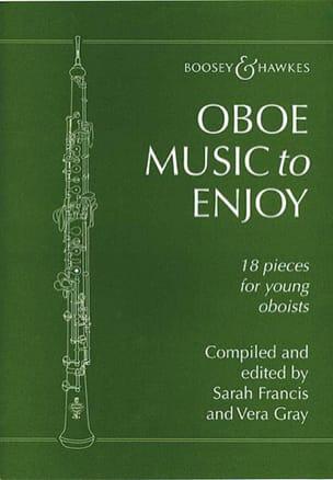Oboe music to enjoy Francis Sarah / Gray Vera Partition laflutedepan