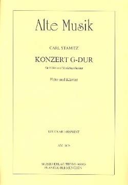 Carl Stamitz - Konzert G-Dur - Flöte Klavier - Partition - di-arezzo.co.uk
