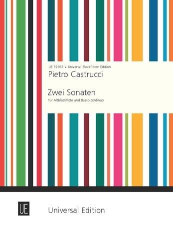 2 Sonaten für Altblockflöte und Basso continuo - laflutedepan.com