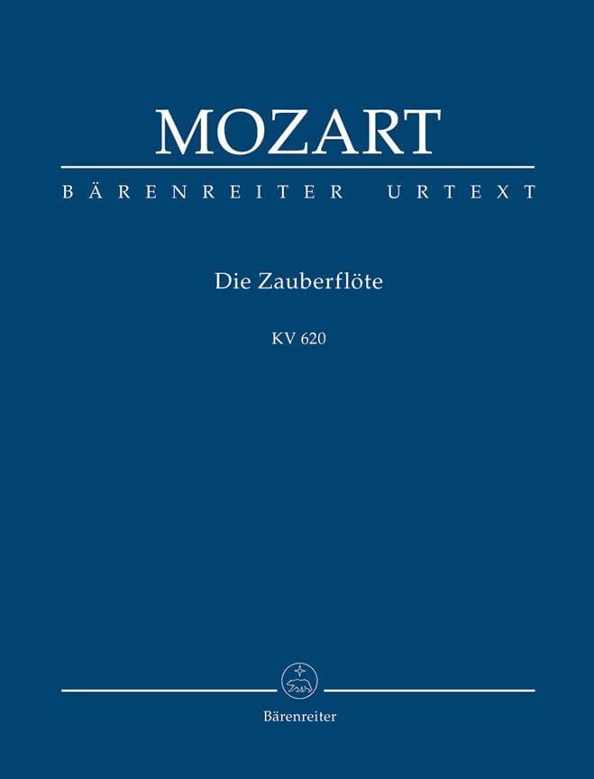 La Flûte Enchantée KV 620 - Partitur - MOZART - laflutedepan.com