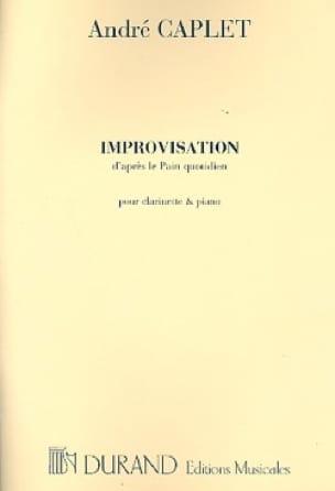 Improvisations d'après Le pain quotidien - Clarinette piano - laflutedepan.com
