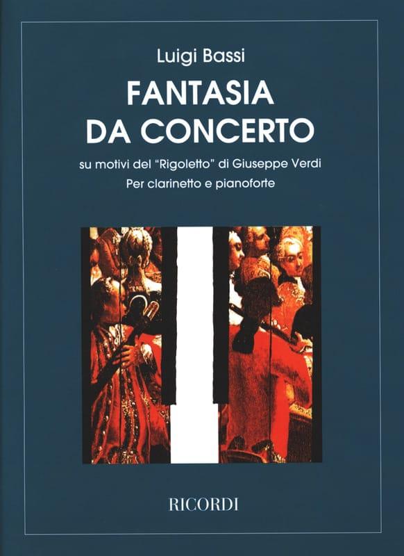 Rigoletto - Clarinetto pianoforte - VERDI - laflutedepan.com