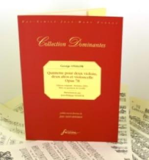 Quintette Op.78 - Georges Onslow - Partition - laflutedepan.com