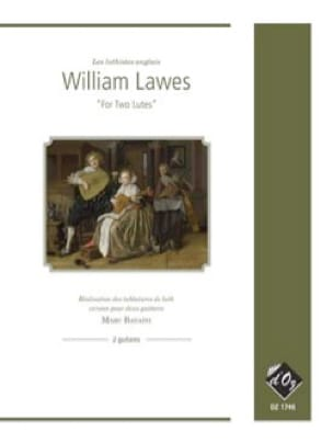 For two lutes - William Lawes - Partition - Guitare - laflutedepan.com