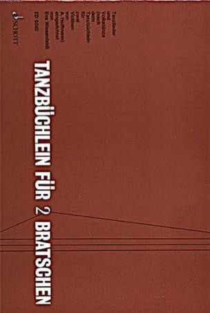 Tanzbüchlein für 2 Bratschen Adolf Hoffmann Partition laflutedepan