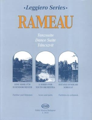 Dance Suite - Junior String Orch. RAMEAU Partition laflutedepan