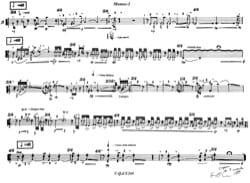 Monos 1 François Rossé Partition Flûte traversière - laflutedepan