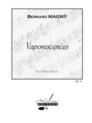 Vaporescences Bernard Magny Partition Flûte traversière - laflutedepan