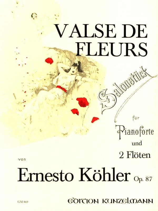 Valse des fleurs op. 87 -2 Flöten Klavier - laflutedepan.com