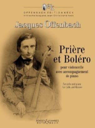 Prière et Boléro - OFFENBACH - Partition - laflutedepan.com