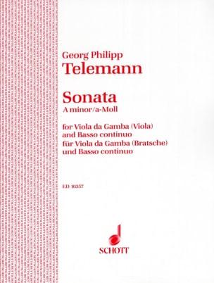 TELEMANN - Sonata A-moll - Viola - Partition - di-arezzo.es