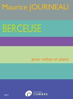 Berceuse - Violon et Piano Maurice Journeau Partition laflutedepan