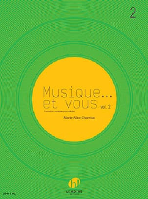 Musique... et vous Volume 2 Marie-Alice Charritat laflutedepan