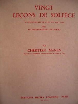 20 Leçons - 7 Clés - A/A - Christian Manen - laflutedepan.com
