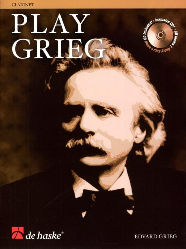 Play Grieg for Clarinet - GRIEG - Partition - laflutedepan.com