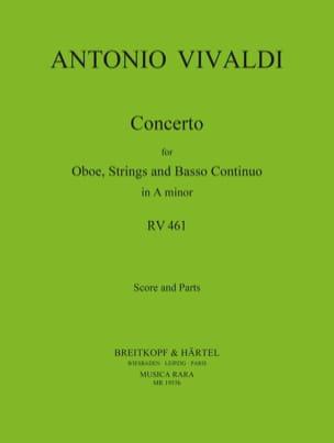 Concerto in A minor RV 461 - Oboe strings Bc VIVALDI laflutedepan