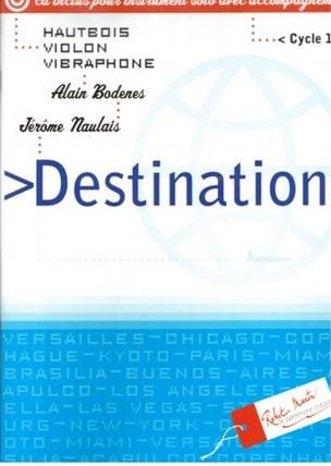 Destinations - Hautbois ou violon, vibraphone laflutedepan