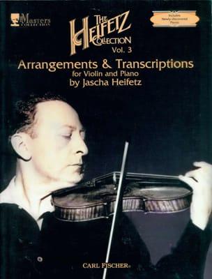 The Heifetz Collection, Volume 3 : Arrangements and Transcriptions laflutedepan
