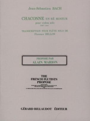 Chaconne en Ré Min. Bwv 1004 BACH Partition laflutedepan