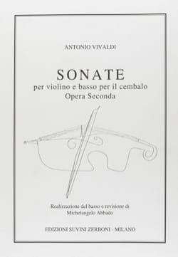 Sonates op. 2 - VIVALDI - Partition - Violon - laflutedepan.com