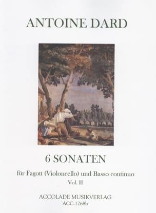 6 Sonates, Volume 2 Pour Basson Ou Violoncelle et Bc - laflutedepan.com