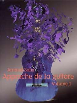 Approche de la Guitare volume 1 - Arnaud Sans - laflutedepan.com