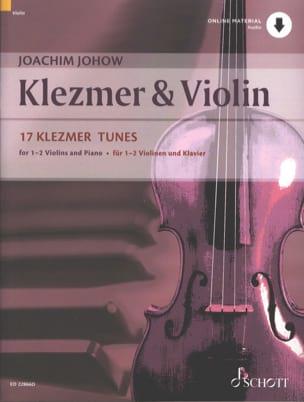 Klezmer & Violin Joachim Johow Partition Violon - laflutedepan