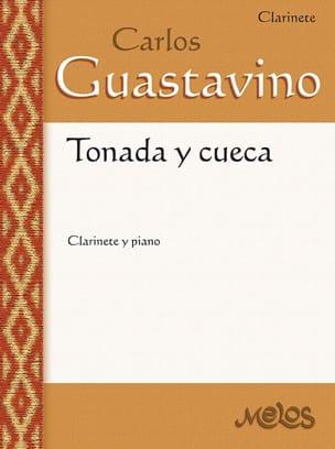 Tonada y cueca Carlos Guastavino Partition Clarinette - laflutedepan