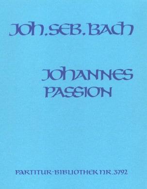 Johannes-Passion - BACH - Partition - Grand format - laflutedepan.com