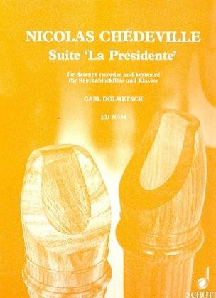 Suite La Présidente - Sopranblockflöte u. Klavier laflutedepan