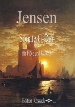Sonate en sol majeur Op. 18 - Niels Peter Jensen - laflutedepan.com