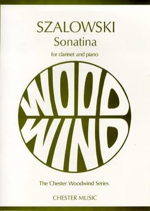 Sonatina for clarinet and piano Antoni Szalowski laflutedepan