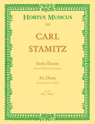 6 Duette, op. 27 Heft 2 - 2 Flöten o. Violinen - laflutedepan.com
