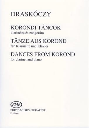 Dances From Korond Laszlo Draskoczy Partition laflutedepan