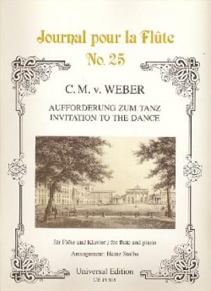 Aufforderung zum Tanz - Flöte Klavier - laflutedepan.com