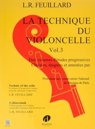 FEUILLARD - Technique du Violoncelle Volume 3 - Partition - di-arezzo.fr