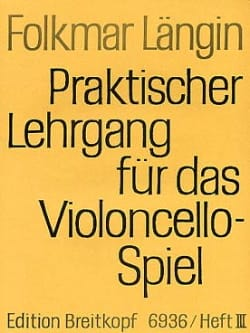 Folkmar Längin - Lehrgang Violoncellospiel - Heft 3 - Partition - di-arezzo.com