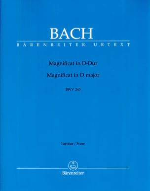 Magnificat BWV 243 D-Dur BACH Partition Grand format - laflutedepan