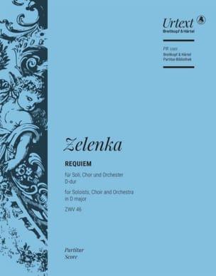 Requiem, ZWV 46 ZELENKA Partition Grand format - laflutedepan
