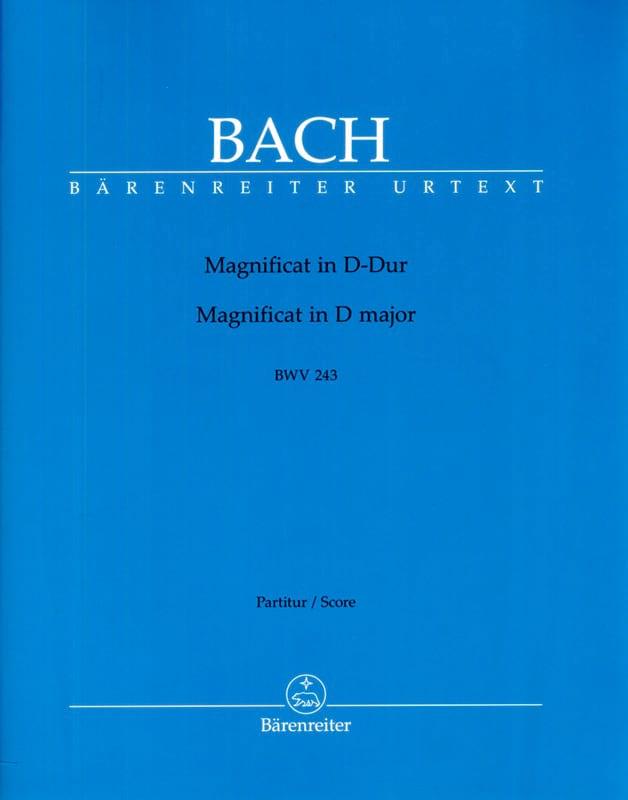 Magnificat BWV 243 D-Dur - BACH - Partition - laflutedepan.com