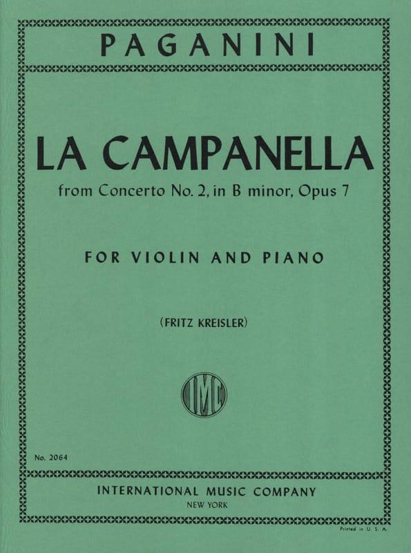 La Campanella - PAGANINI - Partition - Violon - laflutedepan.com