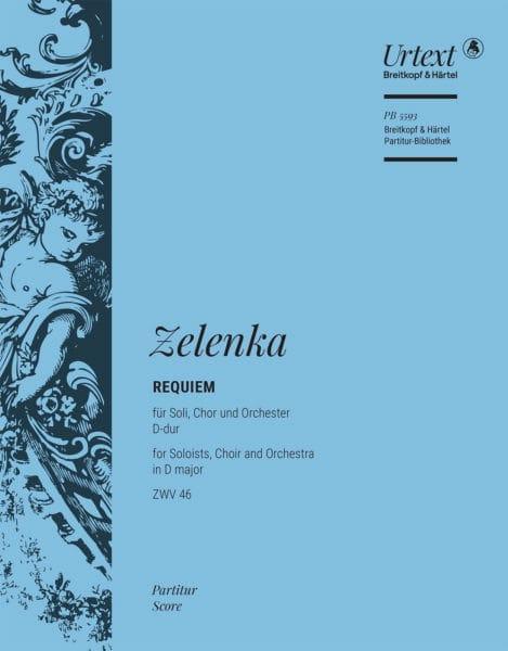 Requiem, ZWV 46 - ZELENKA - Partition - laflutedepan.com