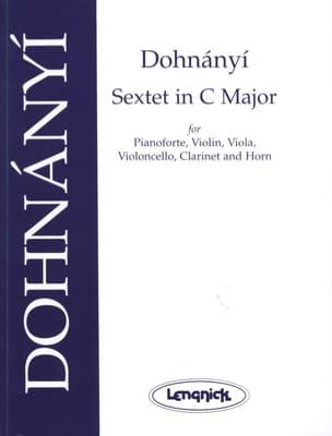 Sextet in C major op. 37 - Score + parts DONHANYI laflutedepan